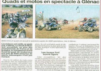 2005 03 23 - Ouest France - Près de 3000 spectateurs ont assisté à la compétition