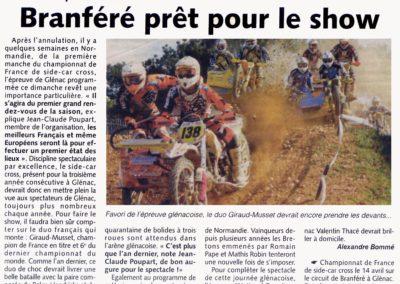 2013 04 10 - Les Infos - Branféré prêt pour le show