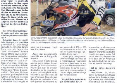 2013 10 09 - Les Infos - Pour le plaisir