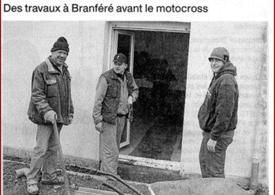2014 03 20 - Ouest France - Des travaux avant le motocross