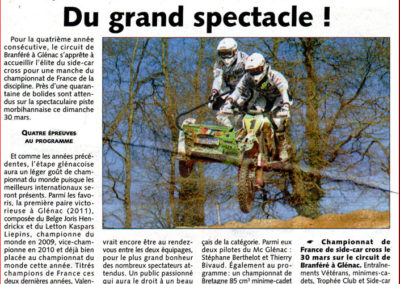 2014 03 26 - Les Infos - Du grand spectacle !