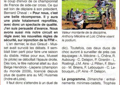 2014 03 28 - Les Infos - Du suspense à prévoir