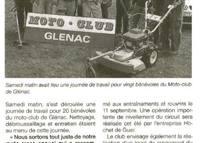 2016 05 09 - Ouest France - Moto club la saisonpas finie