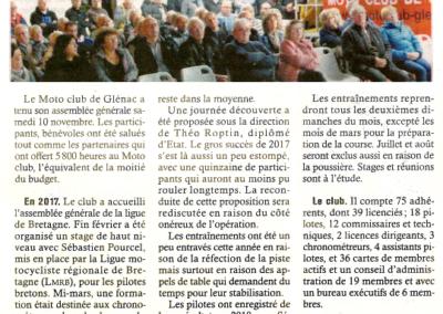 2018 11 14 - Les Infos - Assemblée Générale