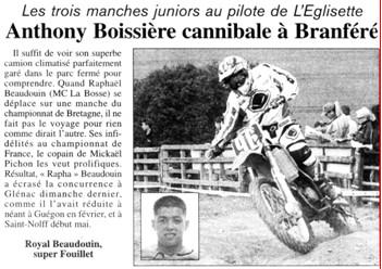 Anthony Boissière cannibale
