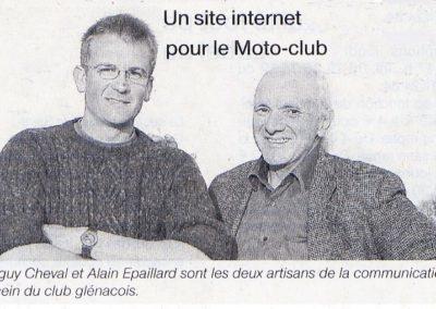 Artisans du site - OUEST FRANCE 29 03 2009