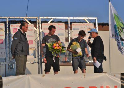 Podium du Bretagne 125cc