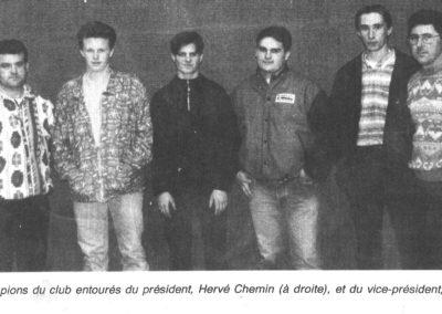 Les champions et les présidents