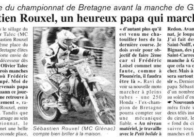 Seb Rouxel un Papa Heureux