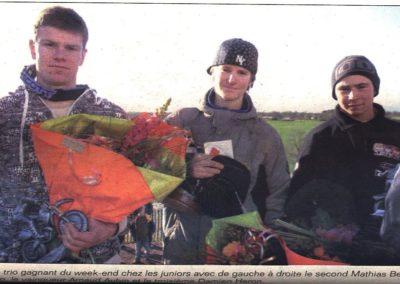 Trio gagnant Junior 2008
