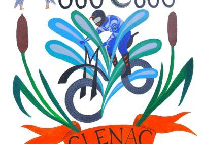 logo Moto club Glénac