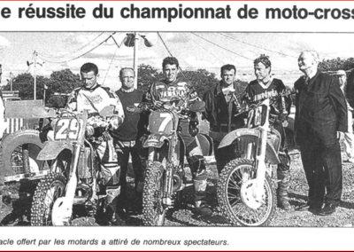 2001 06 10 - Ouest France - Belle réussite du championnat de France