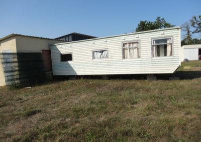 Mise en place bungalow